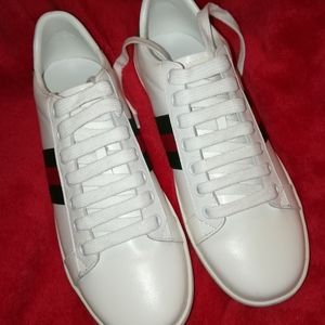 Women's Gucci Ace Sneakers US size 7